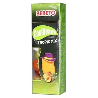 Bebeto Cool Beans Tropical Mix 30 гр.