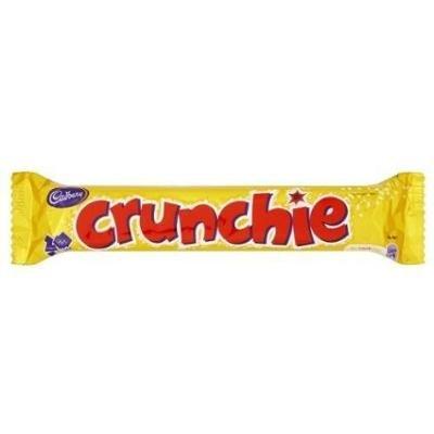 Cadbury Шоколадный Батончик Crunchie 40гр   Великобритания