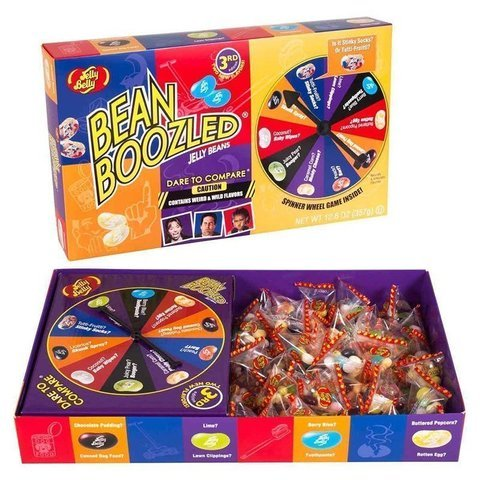 Драже Jelly Belly Bean Boozled GAME 5th(20 вкусов) 100 гр США