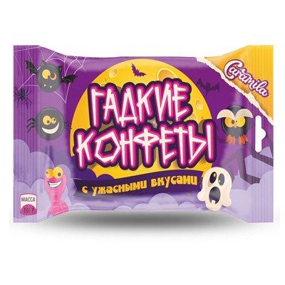 """""""Гадкие конфеты с ужасными вкусами"""" пакет флоу-пак 80 гр"""