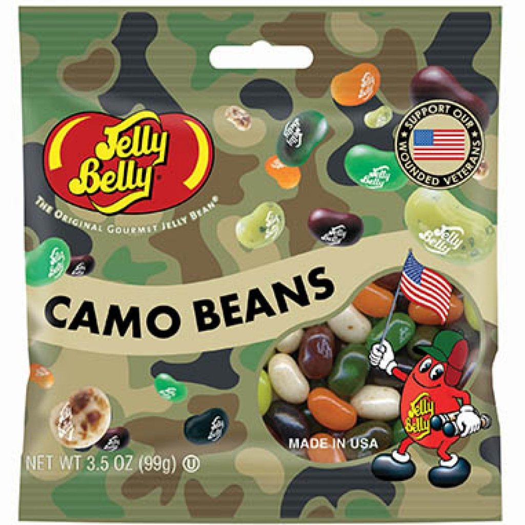 Jelly Belly Camo Beans 99гр США