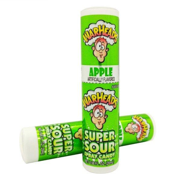 Конфета с кислинкой Warheads Super Sour Spray 20мл. США