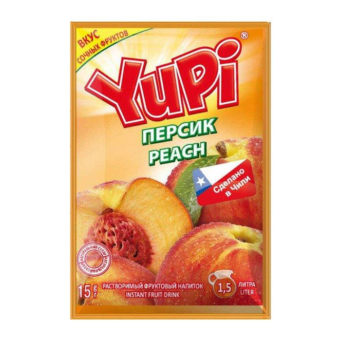 Растворимый напиток Yupi Персик 15гр. Чили