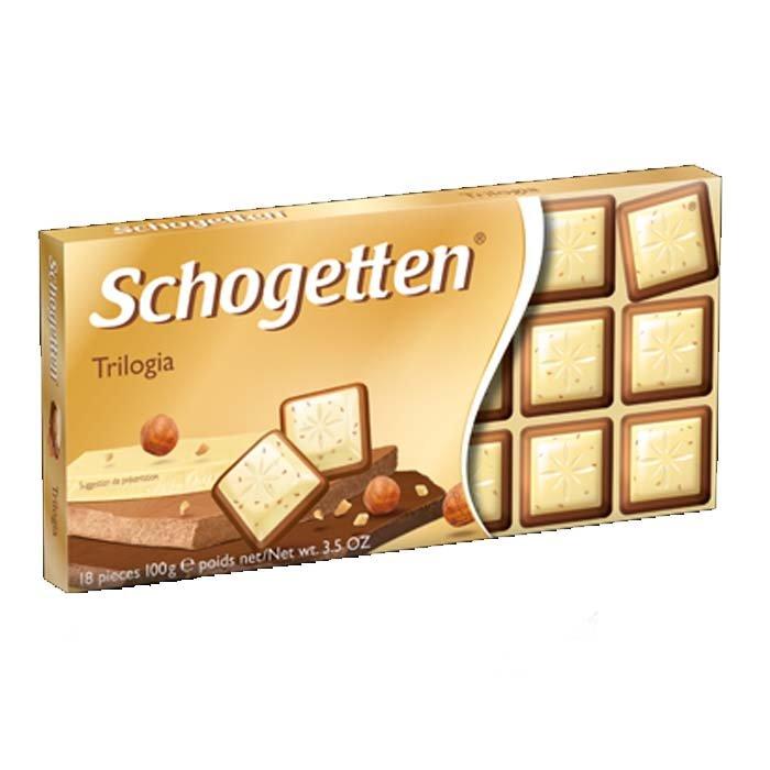 Schgotten Шоколадная плитка Trilogia 100g Германия
