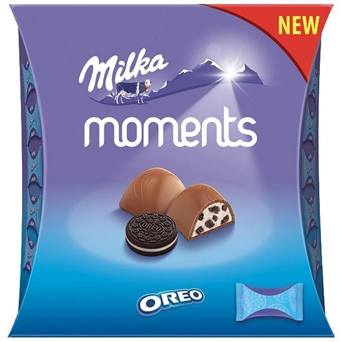 Шоколадные конфеты Милка Moments Мини Орео 92гр