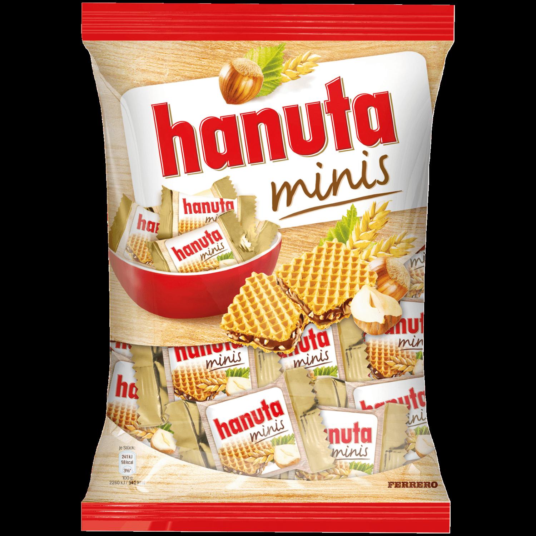 Вафли Hanuta Mini 200г